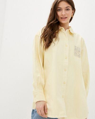 Желтая джинсовая рубашка Miss Sixty