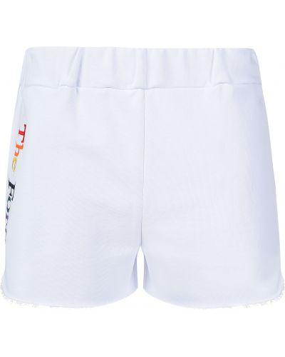 Хлопковые шорты - белые Forte Couture