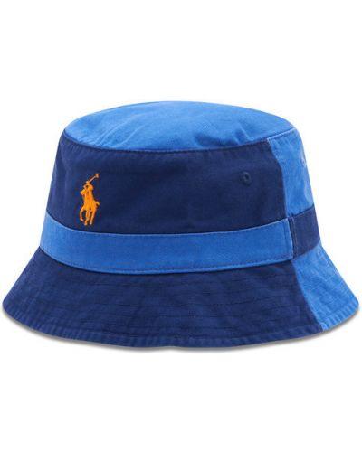 Niebieski kapelusz Polo Ralph Lauren