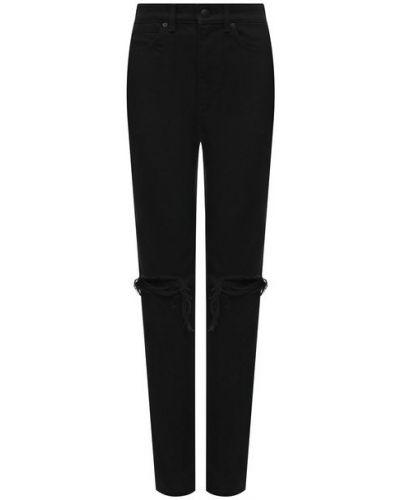 Хлопковые джинсы - черные Denim X Alexander Wang