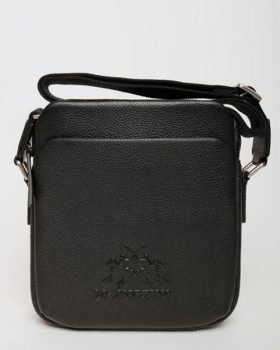 Кожаная сумка La Martina