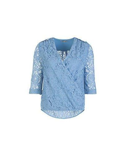 Блузка кружевная с запахом Patrizia Pepe