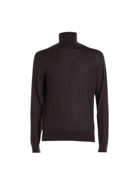 Brązowy sweter Brioni