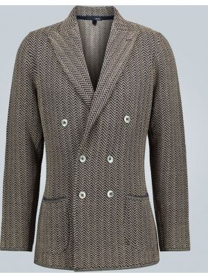 Пиджак двубортный Lardini