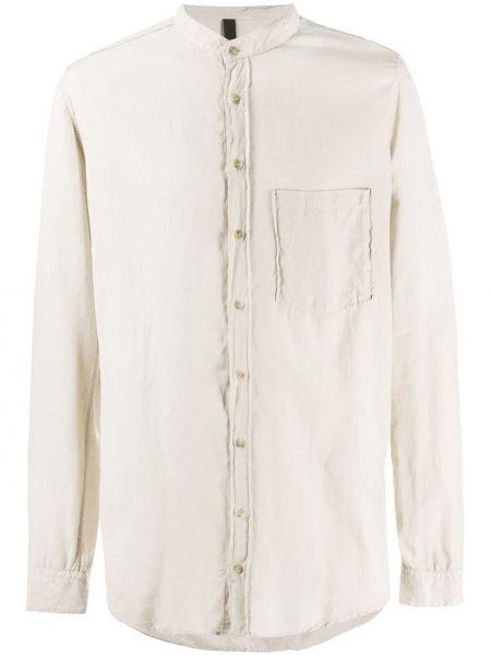 Рубашка с воротником на пуговицах с карманами из вискозы Poème Bohémien