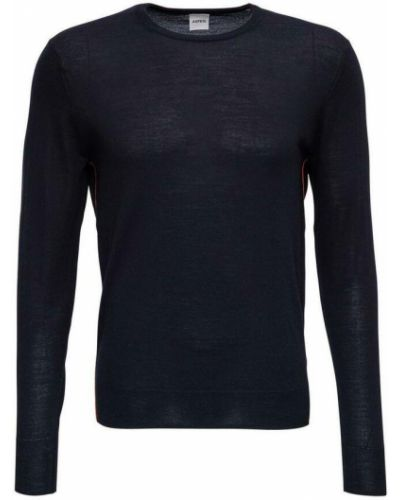 Niebieski sweter Aspesi