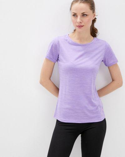 Фиолетовая спортивная футболка Rukka