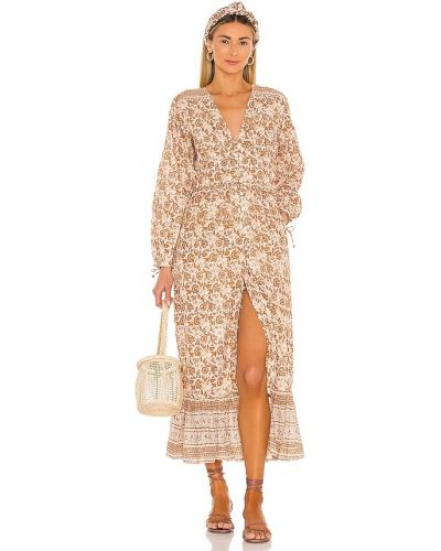 Sukienka bawełniana z printem Cleobella
