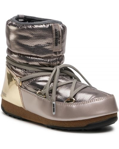 Złote kozaki Moon Boot