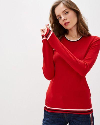 Джемпер красный осенний Sisley