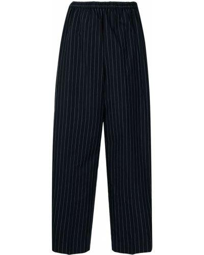 Lniane lniane spodnie - czarne Enfold