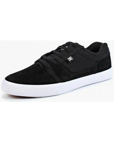 Низкие кеды черные замшевые Dc Shoes