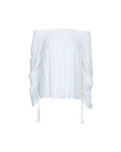 Блузка из вискозы белая Paige