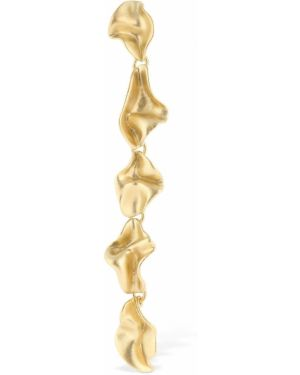 Złote srebrne kolczyki Trine Tuxen