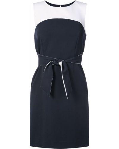 Платье с поясом на пуговицах без рукавов Milly