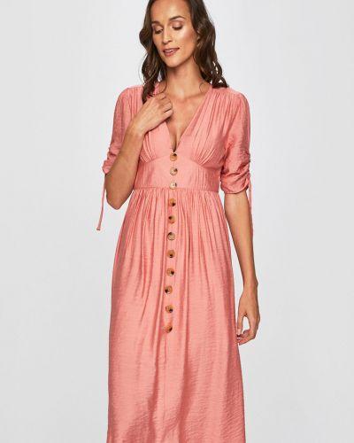 Платье мини из вискозы однотонное Glamorous