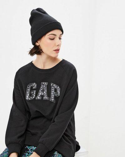 Черный свитшот Gap
