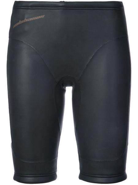 Черные шорты из неопрена Yeezy