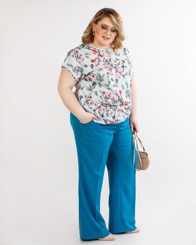 Классические брюки летние со стрелками Jetti-plus