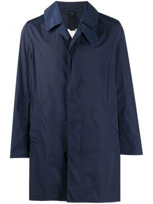 Длинное пальто - синее Mackintosh