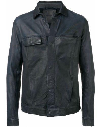 Классическая черная рубашка на пуговицах 10sei0otto