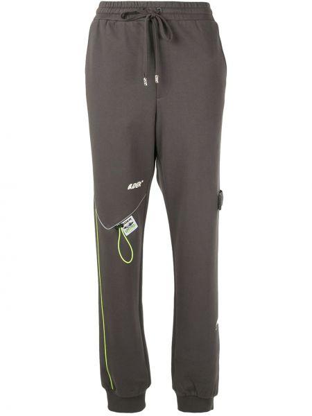 Spodnie bawełniane - zielone Ader Error
