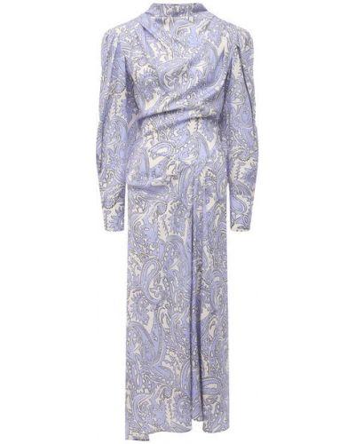 Фиолетовое платье Isabel Marant