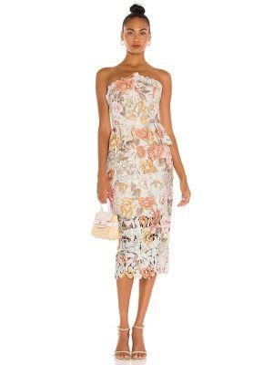 Деловое платье - бежевое Elliatt