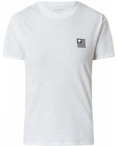 T-shirt z printem - biała Carhartt Work In Progress