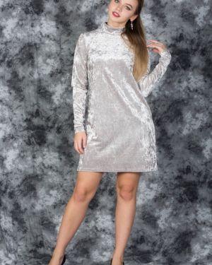 Вечернее платье с открытой спиной на пуговицах Victoria Filippova