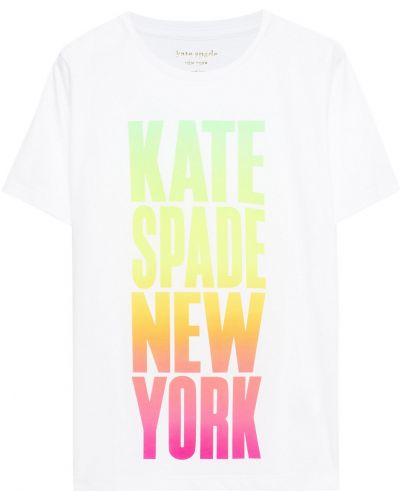 Лонгслив - белая Kate Spade New York