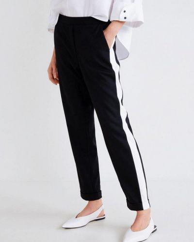 Черные брюки повседневные Mango