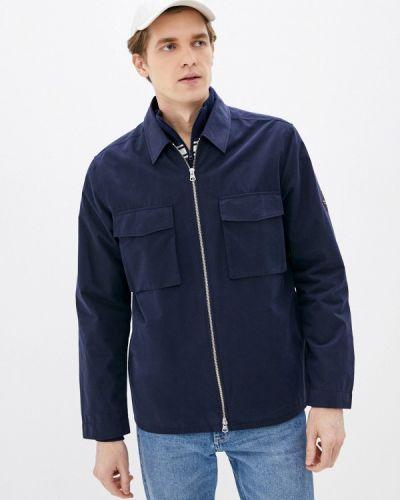 Облегченная синяя куртка Gant