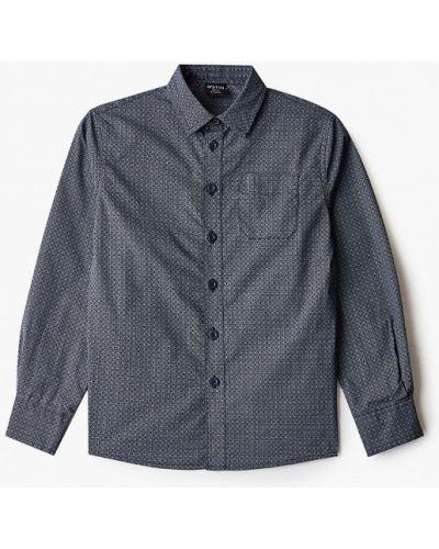 Синяя рубашка Ostin