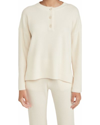 Клубный шерстяной длинный свитер с длинными рукавами Club Monaco