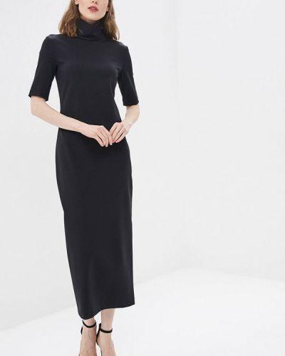 Платье прямое черное Pepen