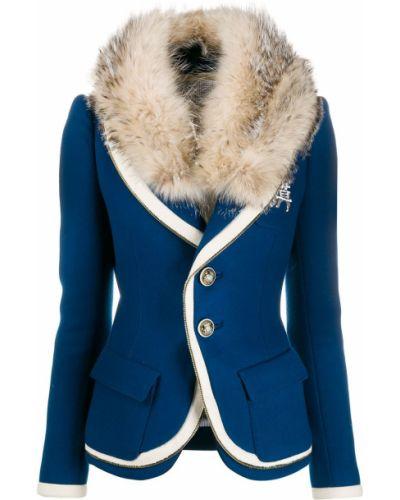 Синяя куртка Balenciaga Pre-owned