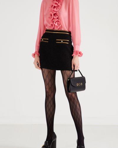 Черные колготки Gucci