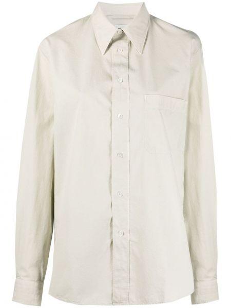Koszula bawełniana z długimi rękawami Lemaire
