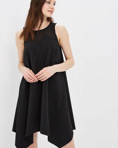 Черное платье весеннее Met