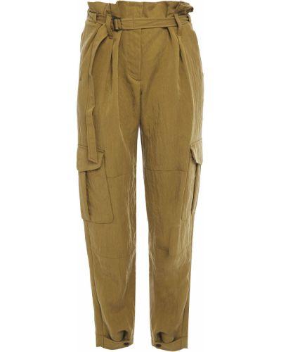Spodnie z paskiem - zielone Rag & Bone