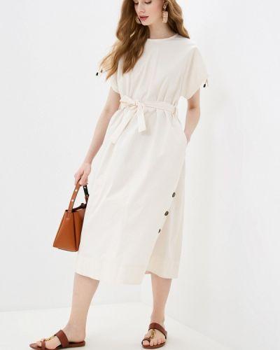 Повседневное платье - бежевое Cappellini
