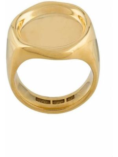Pierścień ze złota niebieski All Blues