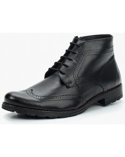 Ботинки осенние кожаные классический Bekerandmiller
