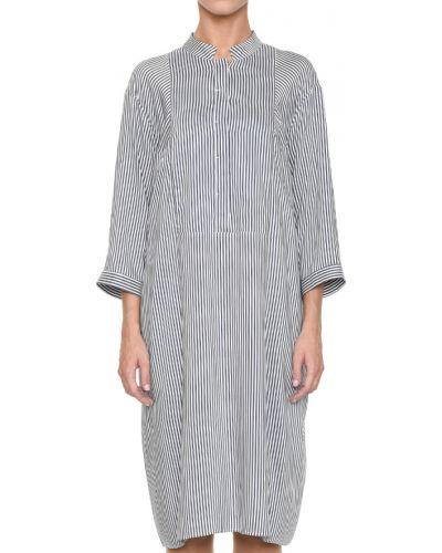 Шелковое платье - белое Peserico
