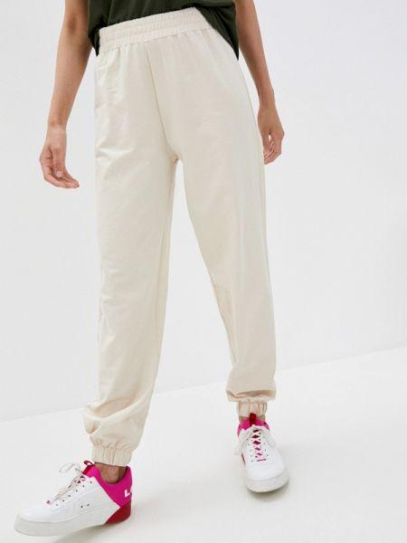 Спортивные брюки бежевый весенний Defacto