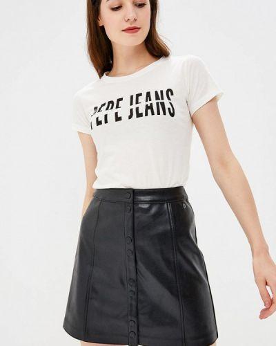 Бирюзовая футболка Pepe Jeans