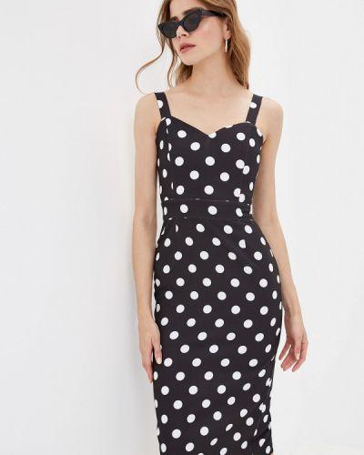 Платье футляр черное Fashion.love.story