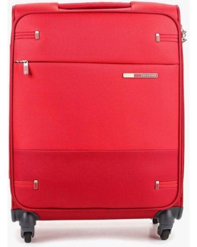 Дорожная сумка красная Samsonite