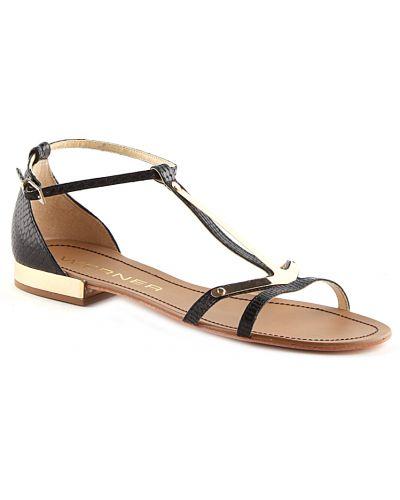 Черные сандалии на каблуке Werner